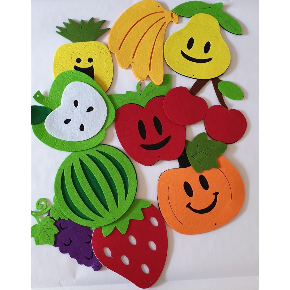 Fructe din fetru